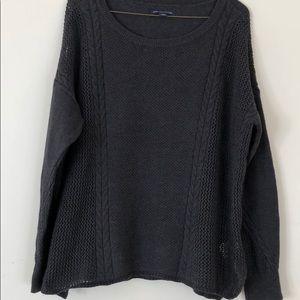 Grey American Eagle sweater